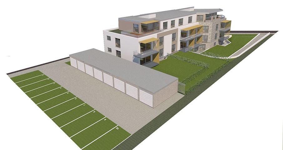 neubau mehrfamilienhaus mit 12 wohneinheiten 8 garagen und stellpl tzen in willich wekeln. Black Bedroom Furniture Sets. Home Design Ideas